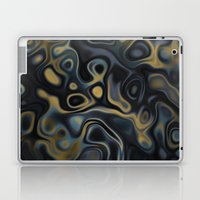 Blue Gold Laptop & iPad Skin