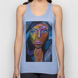 Powerful Woman Unisex Tank Top