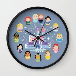 Storybook Princesses Clock Wall Clock