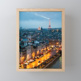 Paris Framed Mini Art Print
