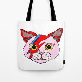 Heroes Cat Head Tote Bag