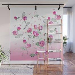 rosebuds Wall Mural