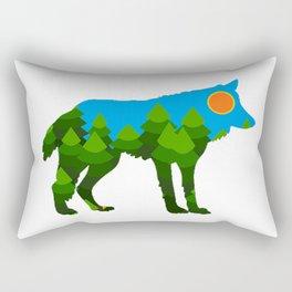 DEEP FOREST Rectangular Pillow