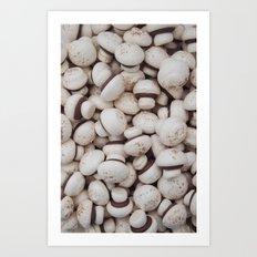 mushies Art Print