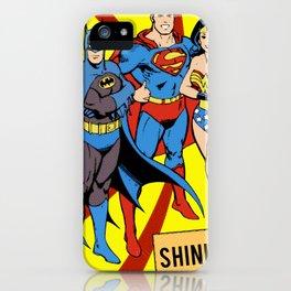 Justice Trio 2 iPhone Case