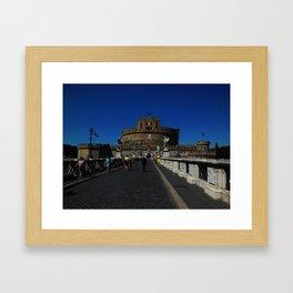 Castel Sant'Angelo, Rome, Italy Framed Art Print