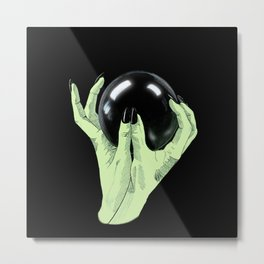 Crystallomancy Metal Print