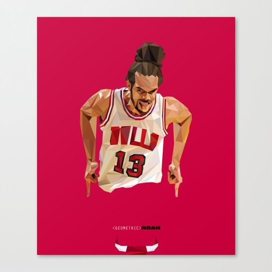 Geometric Noah Canvas Print