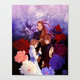 Archeron Sisters Canvas Print