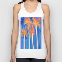 florida Tank Tops featuring Florida Autumn by Rosie Brown