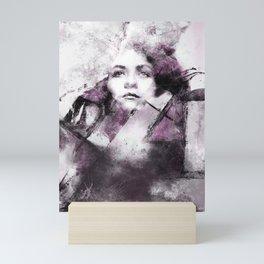 Noir Leaks Mini Art Print