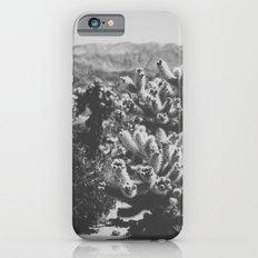 Chollo Cactus Garden (Black + White) iPhone 6s Slim Case