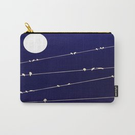 (more) birds on a Wire Carry-All Pouch