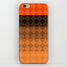 4 Abstract geometric pattern iPhone Skin