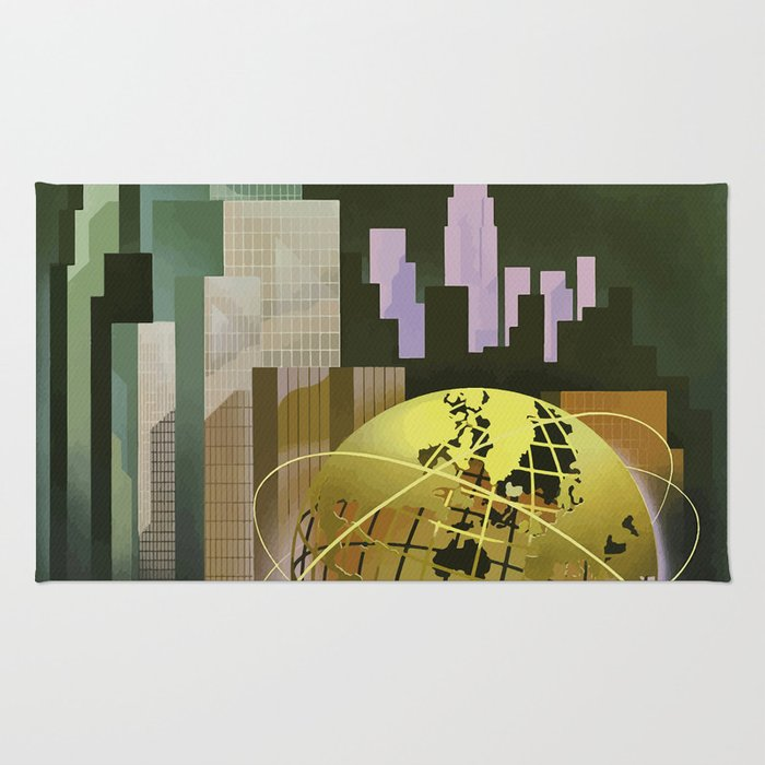 Vintage Poster New York Worlds Fair1 Rug