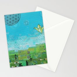 Timelines Stationery Cards