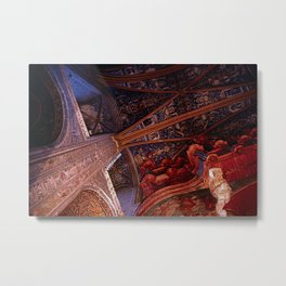 Looking Up - Albi Cathedral Metal Print