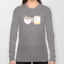 coffee, tea.. everything is fine by me! Long Sleeve T-shirt