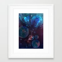 bubbles Framed Art Prints featuring Bubbles by ShadowPaw Pictures