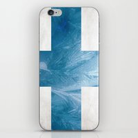finland iPhone & iPod Skins featuring Finland by Fernando Vieira