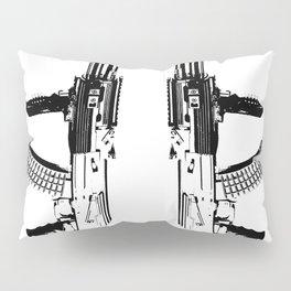 BLACK AK 47 Pillow Sham