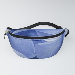 Blue flora Rose Bud- Roses and flowers Fanny Pack