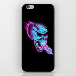 Sonic Skull - Blue Mayhem iPhone Skin