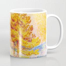 "Henri-Edmond Cross ""Les Pins"" Coffee Mug"