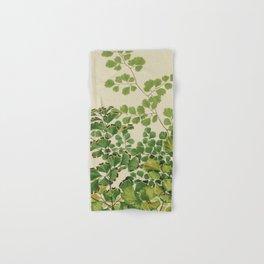 Maidenhair Ferns Hand & Bath Towel