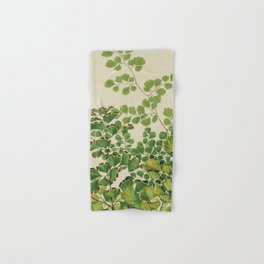 Maidenhair Ferns Hand & Bath Towel
