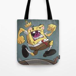 the Pineapple King Tote Bag