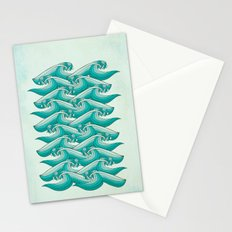 Ocean Vibes Stationery Cards