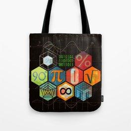 Math Game in black Tote Bag