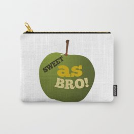 Green apple SWEET AS BRO Carry-All Pouch