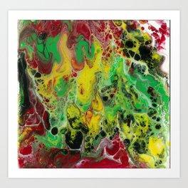 Reggae love Art Print