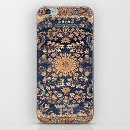 Sarouk Persian Floral Rug Print iPhone Skin