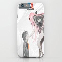 Franxx Hiro Zero Two Long iPhone Case