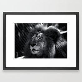 Smirk Framed Art Print