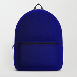 Rich Vibrant Indigo Blue Gradient Backpack