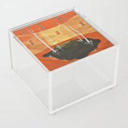 A Room in the Woods Acrylic Box
