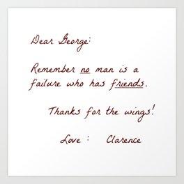 Dear George Kunstdrucke
