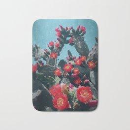 Cacti in Bloom n.1 Bath Mat