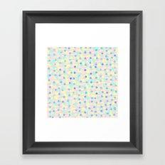 LOVELY CHAOS Framed Art Print
