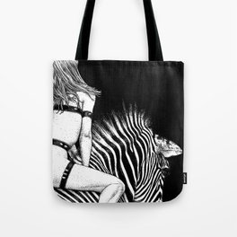 asc 705 - La cavalière Mang (Do you see what I see?) Tote Bag