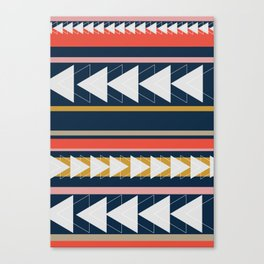 Geometric Triangle Art Canvas Print