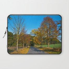 Autumnal feeling of October Laptop Sleeve
