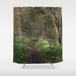 Kears Wood Shower Curtain