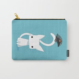 Cat and Raven Carry-All Pouch