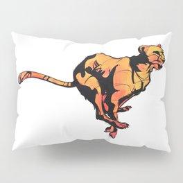 running cheetah Pillow Sham