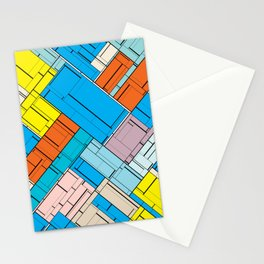 The Burning Rainbow Bridge 143 Stationery Cards
